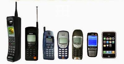 Perkembangan Teknologi Telepon Seluler Dari Waktu Ke Waktu
