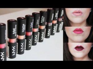 nyx lipstik matte review